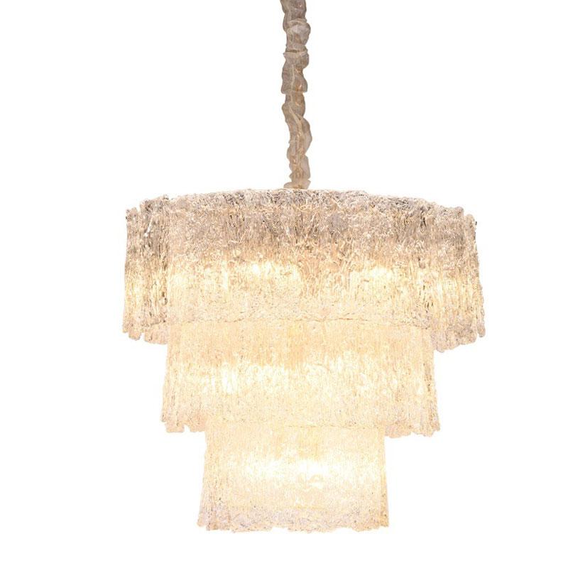 Подвесной светильник в китайском стиле, внутренняя Хрустальная люстра