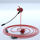 Headset In-ear In-ear 3.5mm Gaming Headset Volume Control Headset With Microphone In-ear Headset