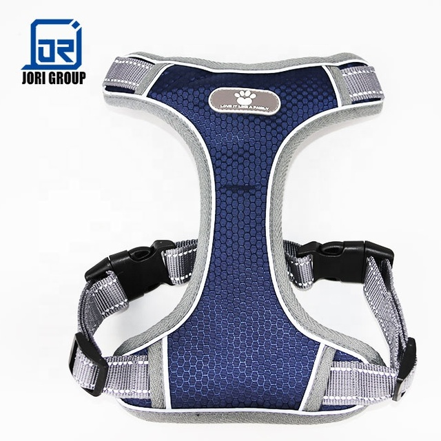 High Quality Waterproof Nylon Reflective Harness No Pull Adjustable Vest Walking For Large Dog