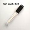 Black+foot brush