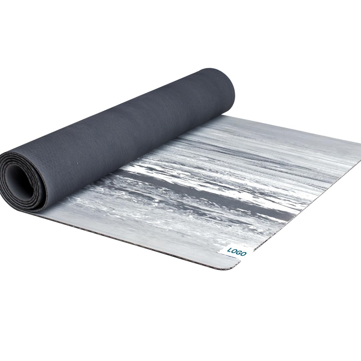MOWIN Eco friendly non-slip pu yoga mat/natural rubber yoga mat