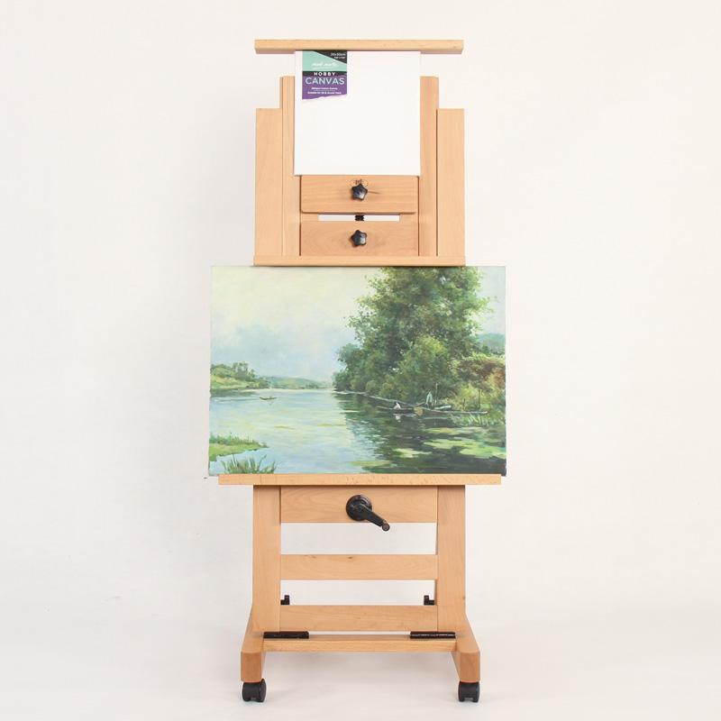 High Quality Single Rocker wooden art easel
