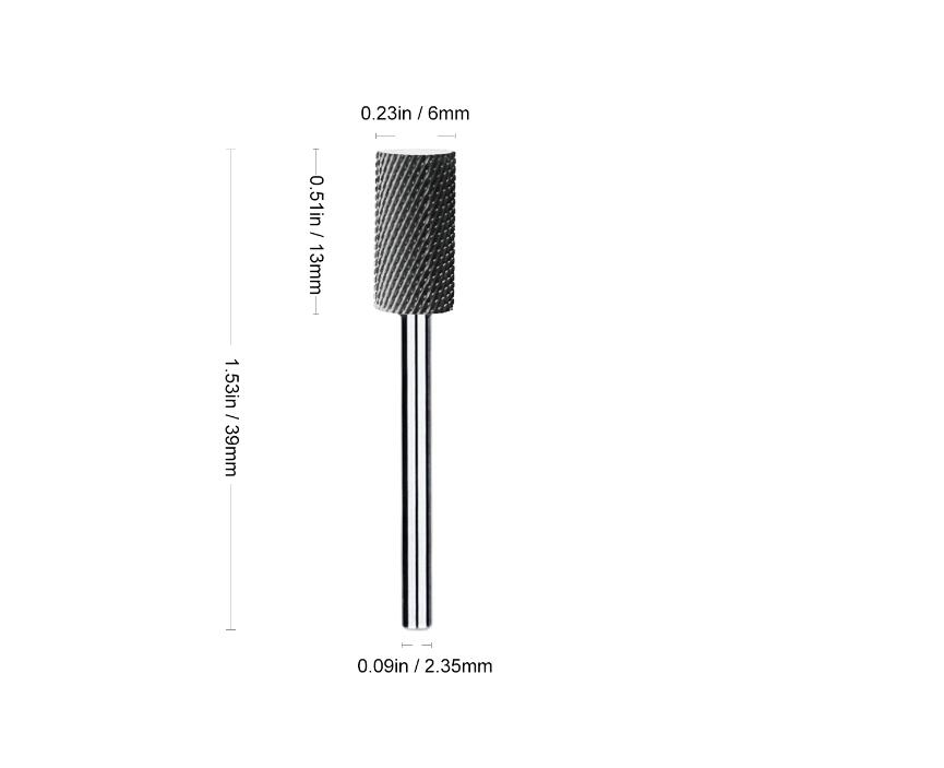 New Arrival Tungsten steel Nail drill set Carbide Nail Drill Bits