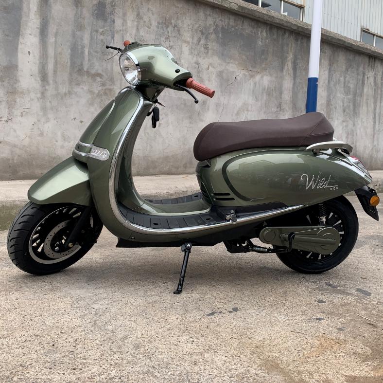 EV3000 новый дизайн 60 в 20 ач аккумулятор 3000 вт мотор ретро Vespa электрический скутер citycoco электрические мотоциклы