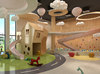 Kids school house lobby design