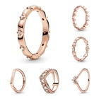 Sterling Silver Jewelry Silver Recommend Rose Gold Color 925 Sterling Silver Jewelry Rings