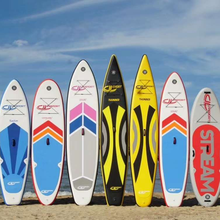 wholesale custom inflatable sup stand up standup paddle board