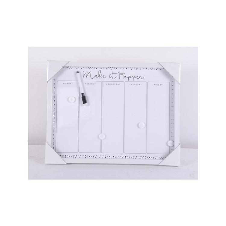Wholesale Custom Dry Erase Calendar Magnetic Whiteboard Weekly Planner - Yola WhiteBoard   szyola.net