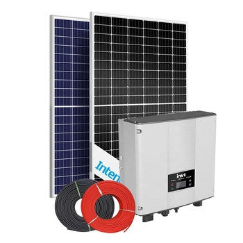 Residential use INTENERGY 5kw solar panel home system 5kw on grid solar system