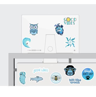 vsco 50pcs cute waterproof vinyl laptop graffiti journal hydro flask stickers for kids water bottle