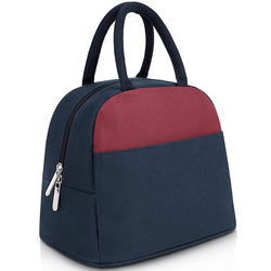 Portable waterproof oxford outdoor travel insulated student lunch bag cooler lunch bag