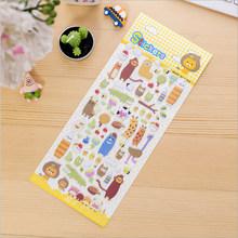 1 шт./лот, мультипликационные 3D корейские Пузырьковые Стикеры, Kawaii Planner, наклейки для скрапбукинга, Канцтовары, школьные принадлежности(Китай)