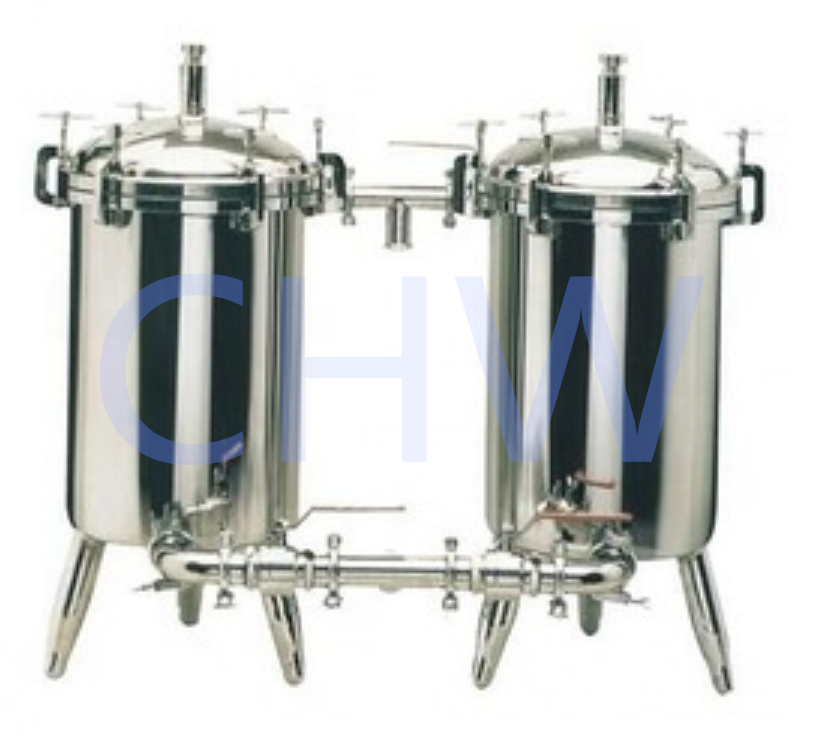 Sanitary stainless steel high quality Micro Filter Duplex