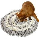 Pet snuffle mat interactive feed game pet toys natural foraging skills dog chew toy pet treat toys