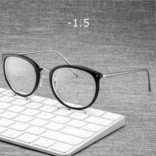 UVLAIK готовые близорукость очки оправа для женщин очки оптические оправы близорукость прозрачные очки 1-1,5-2-2,5-3-3,5-4(Китай)