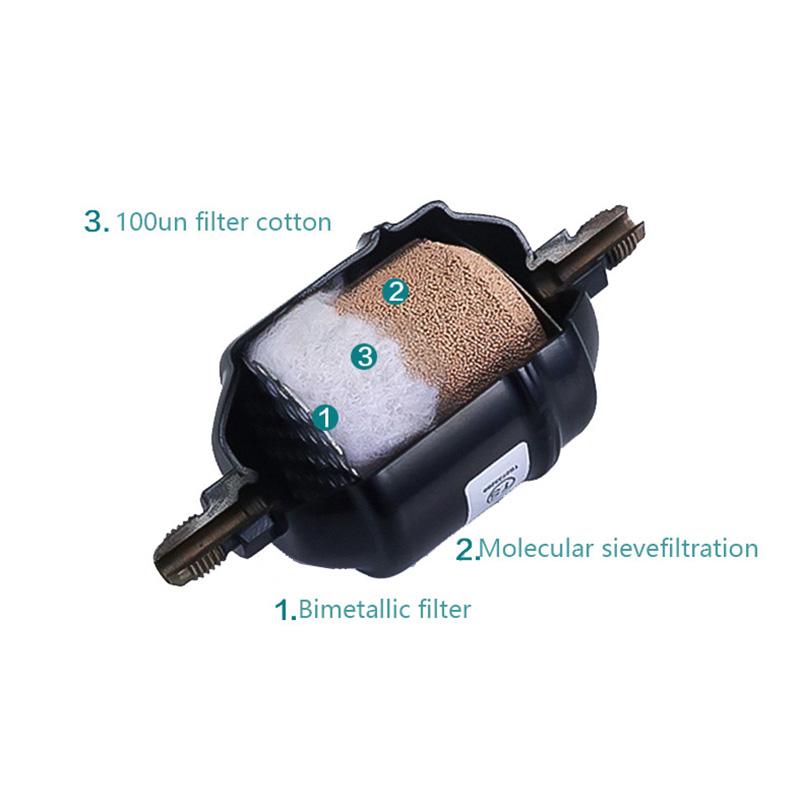Двухсторонний односторонний Холодильный осушитель воздуха кондиционер фильтр-осушитель