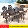 12-6 барный стул 1 косая Линия Дизайн прямоугольный стол 175 см