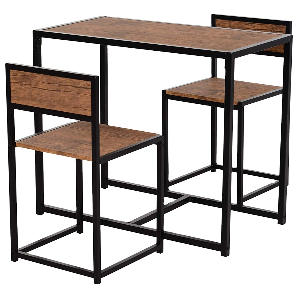 Heavy Duty Wooden Kitchen Table And Chairs Dinner Table Sets   Buy ...