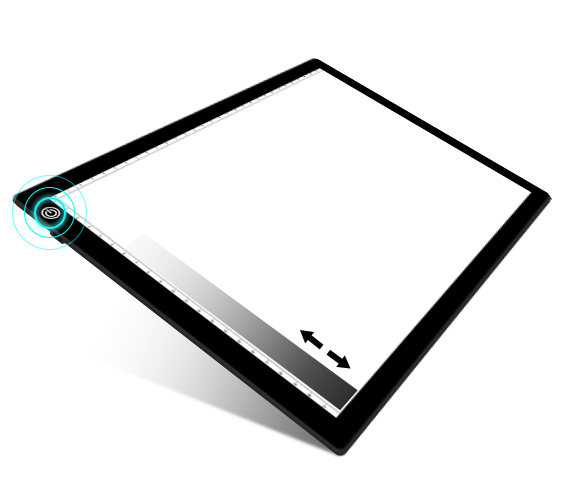 Светодиодный светильник artist a4, тонкий светильник для рисования, Светодиодная доска для рисования/эскизов/CT, больница