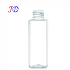 Bottle With Sprayer Cap Custom Bottle With Sprayer Empty Hair Oil Liquid Frosted 15Ml Square Bottle Wholesale With Pump Sprayer Square Bottle With Square Cap