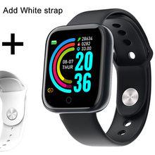 Смарт-часы Hembeer H68 для мужчин и женщин, водонепроницаемые Смарт-часы для телефона на Android и IOS, трекер сердечного ритма, кровяного давления, ки...(China)