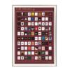 100 movies--Wine red