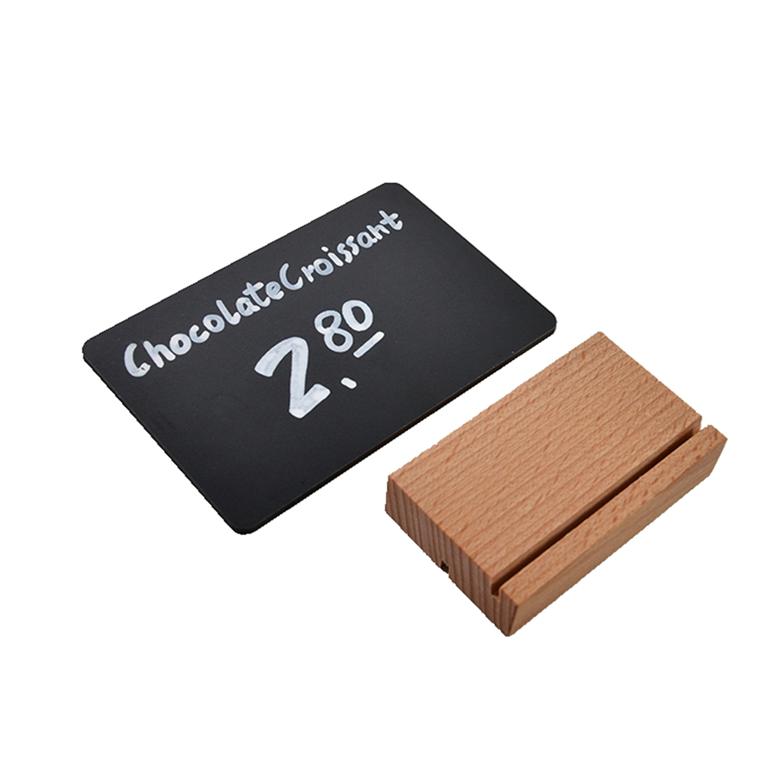 Pine Wood Base Mini Size Chalkboard For Bar Table - Yola WhiteBoard | szyola.net