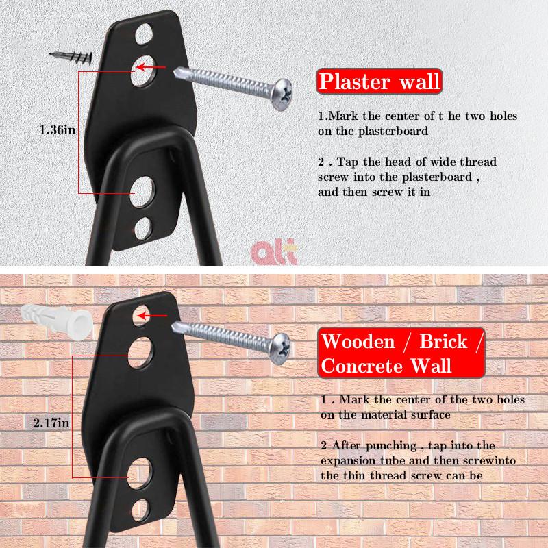 Двойные крючки для хранения в гараже J, крючки для досок, тяжелые гаражные вешалки, органайзер, оптовая продажа, крючки для L-Peg