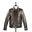 Leather Jacket 2020 Hot Style Men's Motorcycle Pu Leather Jacket With Belt Wholesale
