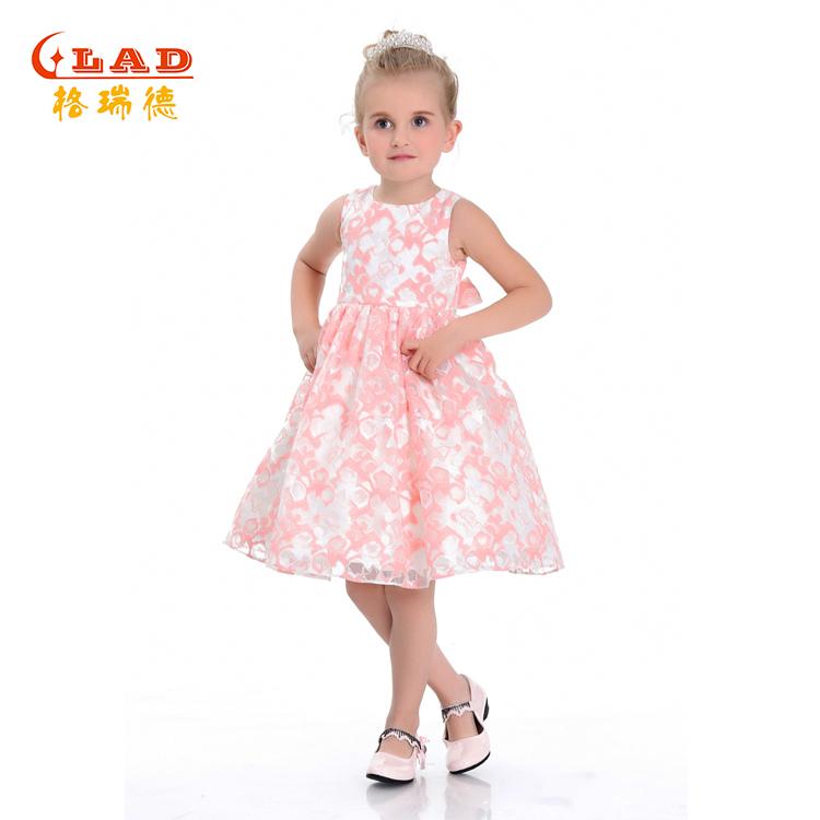 2021 Spanish Baby Kids Wear Casual Children Party Girls Birthday Summer Smock Girls Dress