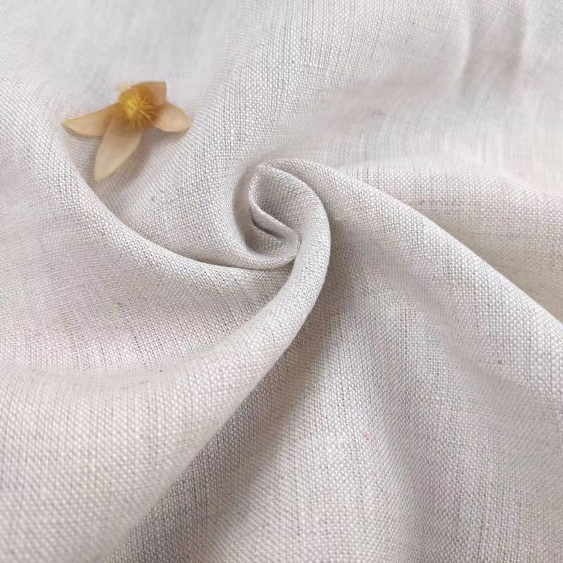 100% linen plain 150gsm dyed environmentally friendly and fresh