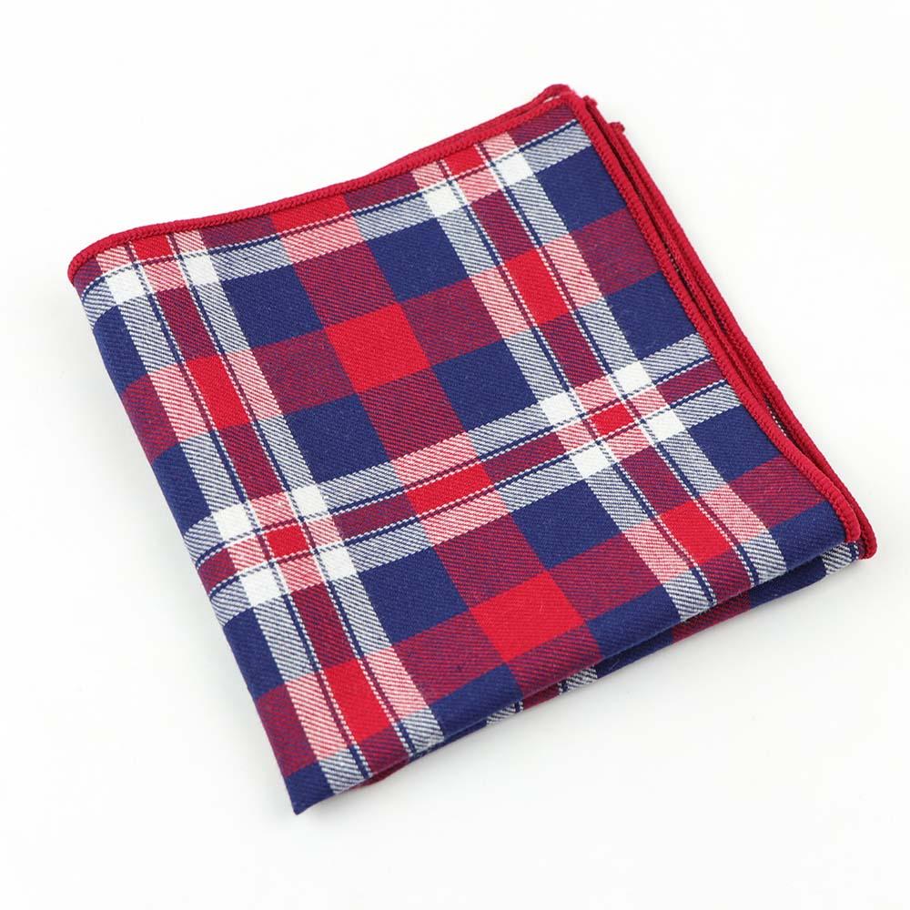 Мужской Хлопковый носовой платок тканый цветной печати клетчатый Карманный квадратный мужской повседневный Радужный карман носовой платок полотенца