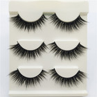Eyelashes Unique Packaging Cruelty Free 3d Siberian Mink Eyelashes Vendor