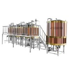 7bbl Brewery Equipment The 7BBL Micro Craft Copper Beer Brewery Equipment Brewhouse For Sale