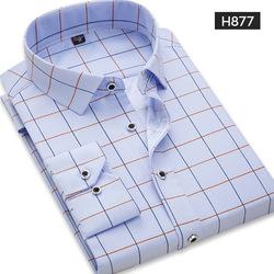 2021 men's t shirts Wholesaler  Hawaiian Style Color style shirt  plus size100% cotton long sleeve formal arket shirt