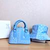 Light blue-bag+hat