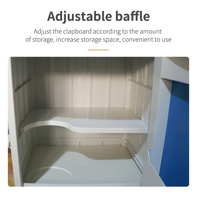 Wholesale Cheap ABS Standard Hospital Bedside Table Medical Cabinet Wholesale Cheap ABS Standard