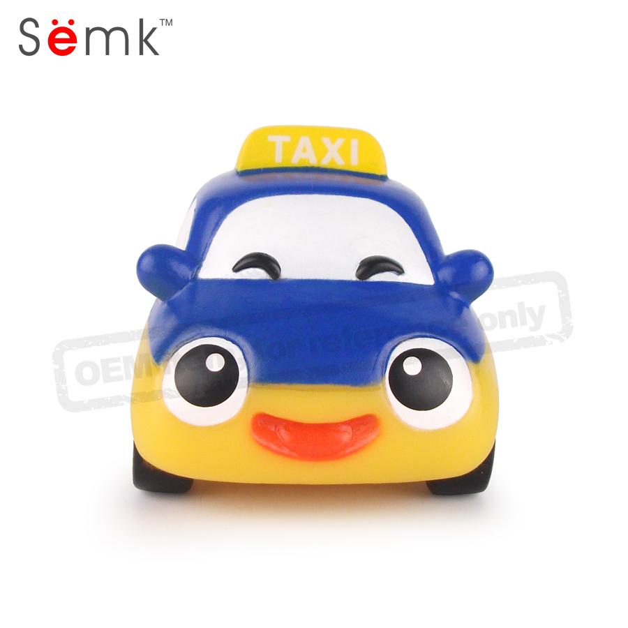 Лидер продаж на Amazon, игрушка с бесплатным колесом из ПВХ, маленькая мини-фигурка автомобиля для детей