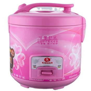 The factory independently produces 5L pink large capacity electric rice cooker