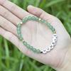 CB86798 Green Aventurine+letter