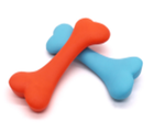 Toys Toy High Quality Pet Molar Toys Rubber Indestructible Dog Teething Toy Cartoon Bone Toy