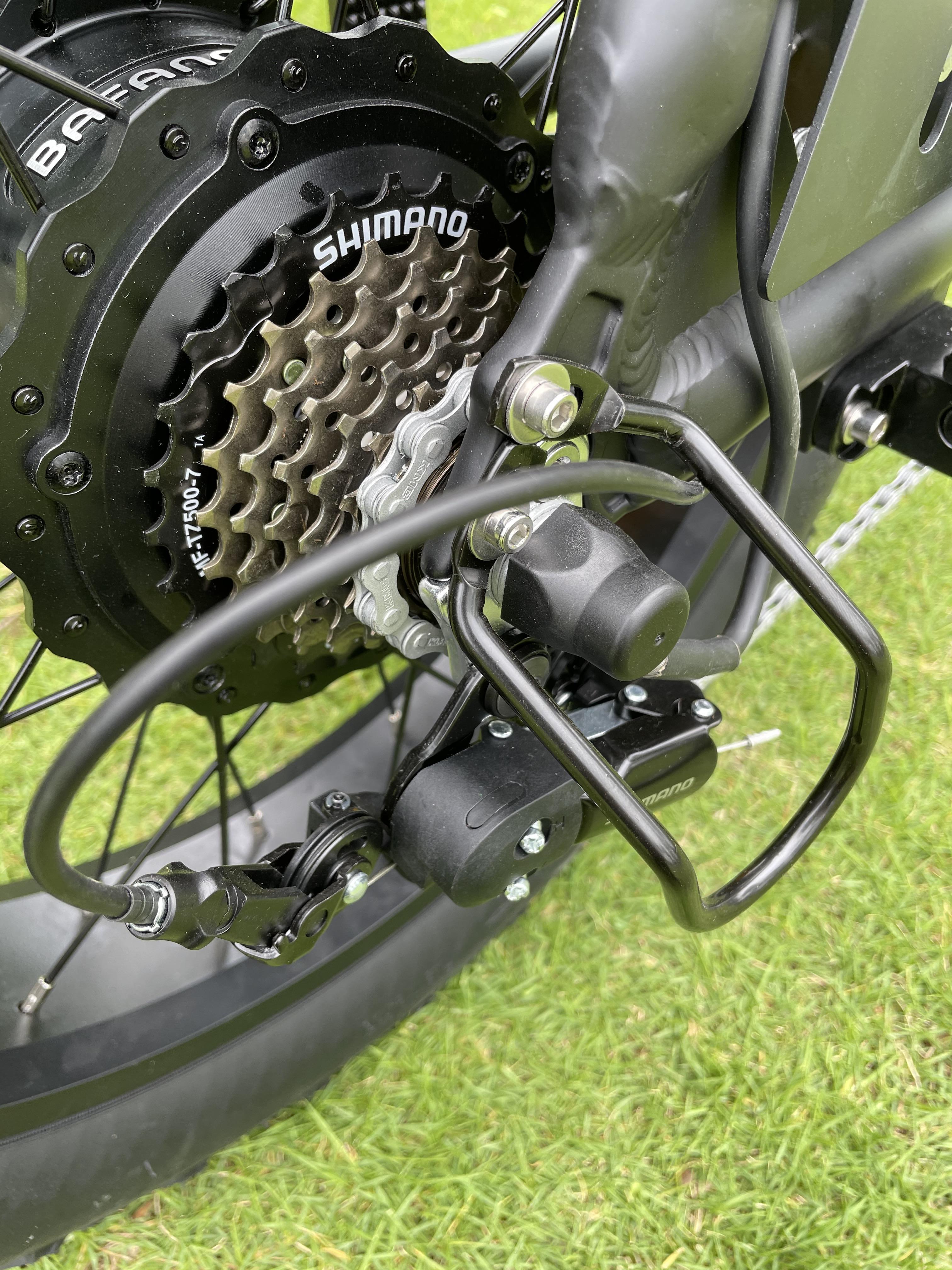 New Design Super New Power Electric Bike 2 Seat Electric Bike 48V 500W 750W 1000W Optional Cruz 73