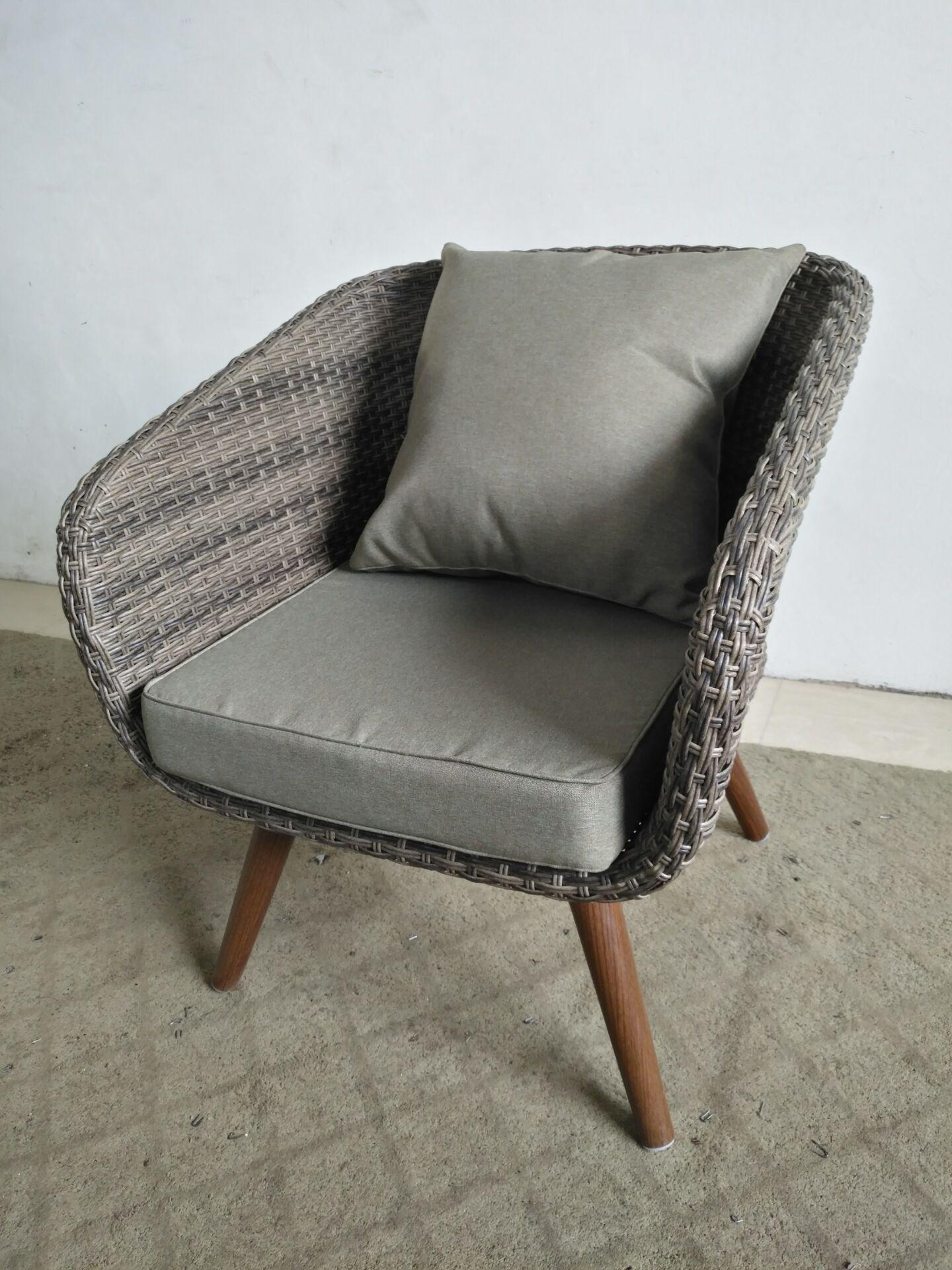 Высококачественный комплект диванов из ротанга в европейском стиле, удобная уличная мебель для дома, сада, патио