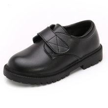 ULKNN 2020 новые детские кожаные свадебные модельные туфли для мальчиков, детские школьные туфли для выступлений, черные повседневные детские м...(China)