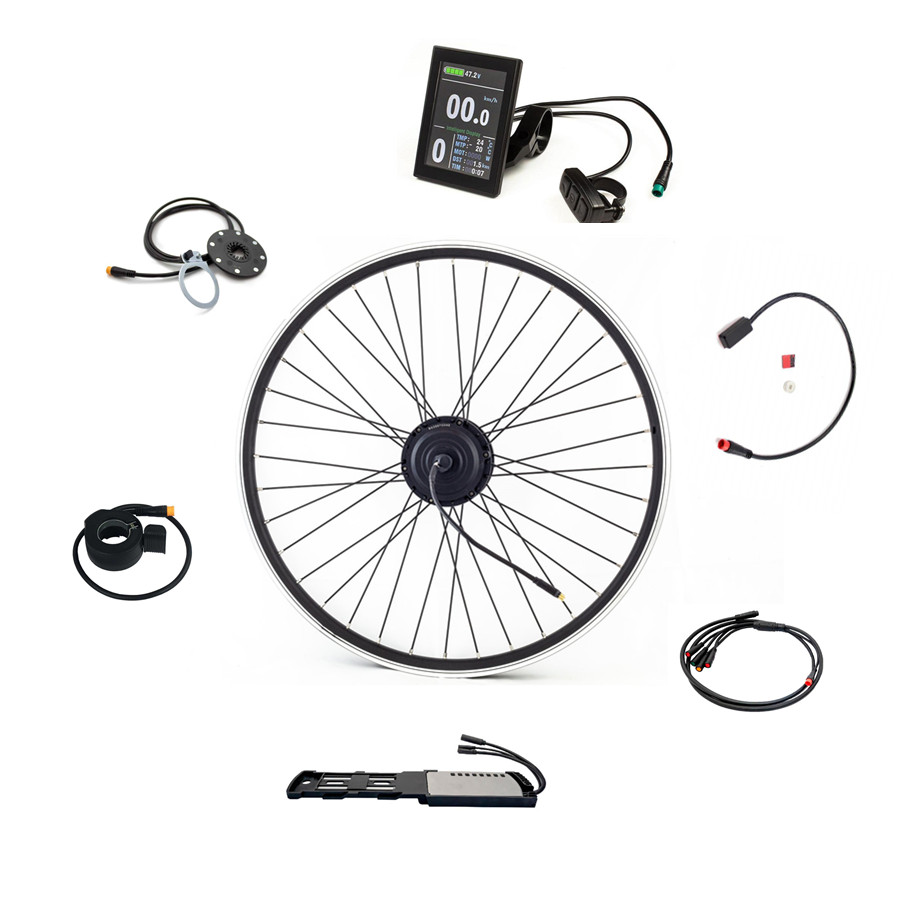 Kits Mountain Bike 250w 500w Hot Sale 36v 350w Electric Bicycle Conversion Kit With Different Rim Size