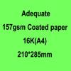 Adequate 157gsm Coated paper