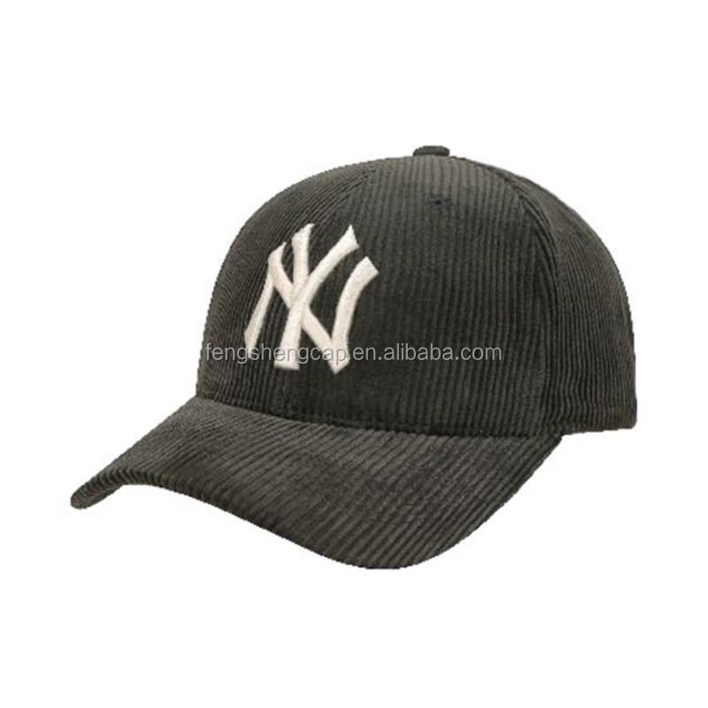 2021 New Fashion Style Corduroy NY Baseball Hats Unstructured American League LA Baseball Caps Boston Strapback Dad Hats