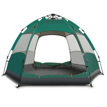 Outdoor waterproof luxury family 7-8 person camping tent