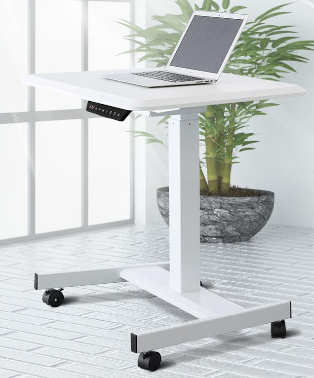 Electric Height Adjustable Sit Stand Desk Laptop Desk for Home & Office Usage