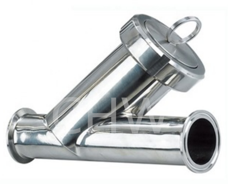 Sanitary stainless steel high quality Filter Y Type